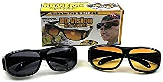 Generic Set of Two HD Vision Day and Night Glasses