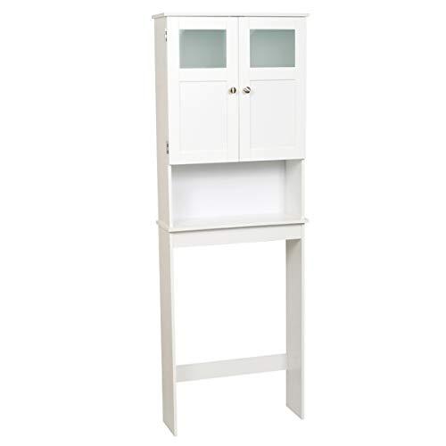 Zenna Home Bathroom Spacesaver, STORAGE, White
