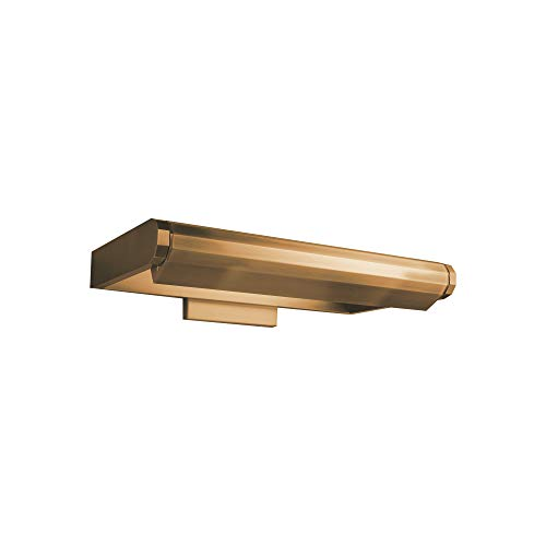 WAC Lighting PL-50011-AB Kent Display Lighting, 11 Inches, Aged Brass