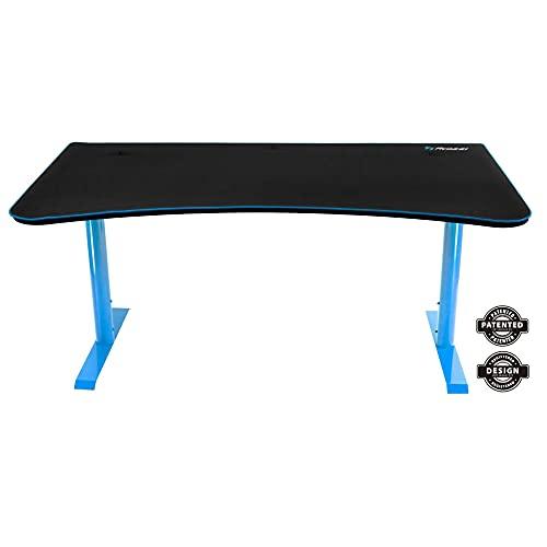 Arozzi Arena Gaming Desk, Metal, 160x80x80 cm - Blue