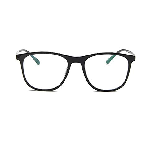 LeftSuper Gafas de Sol Gafas Lisas para Estudiantes Coreanos Montura de Gafas de Moda para Hombres y Mujeres Montura de Gafas miopes