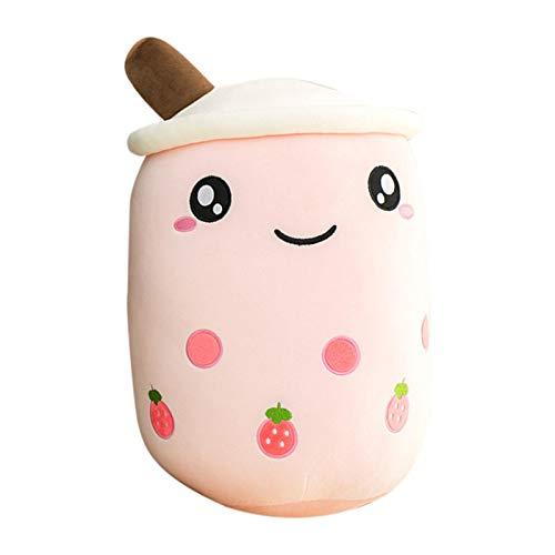 Niedliches Milchtee-Tassenkissen - Bubble Milk Tea Plush Pillow , Milk Tea Cup Plüsch Spielzeugpuppe Langes Kissenkissen Milchteekissen