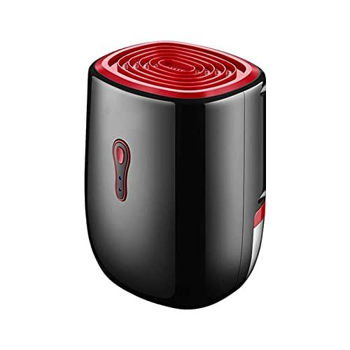 QCSMegy Deshumidificador pequeño Deshumidificador portátil y silencioso de 800 ml de Capacidad para el hogar, Dormitorio, baño, Armario