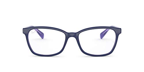Ray-Ban 0RX 5362 5776 54 Monturas de Gafas, Top BLU/Lt BLU/Trnsprnt Volt, Mujer