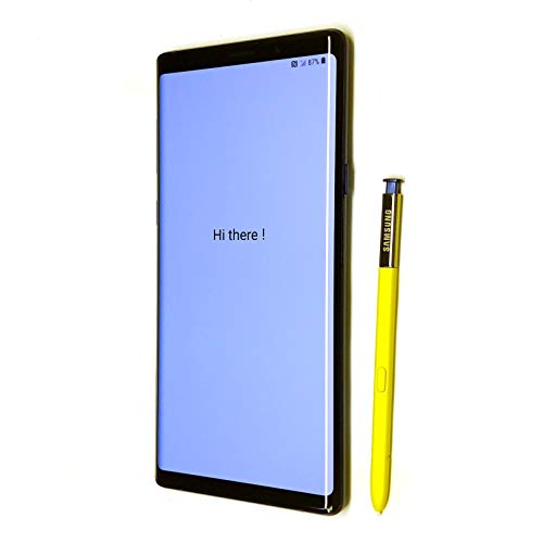 """Samsung galaxy note 9 factory unlocked phone with 6. 4"""" screen and 128gb (u. S. Warranty), ocean blue"""