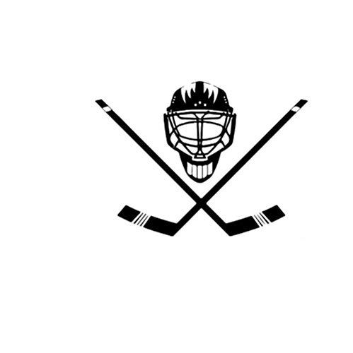 Wandtattoo Eishockey Vinylwandgemälde, Plakat, Haupttapetenschlafzimmerwohnzimmer-wohngestaltung