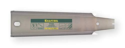 Kraftool Ersatz-Sägeblatt Ryoba 250 mm, 17 Zähne pro Zoll, für Japansäge Ryoba.