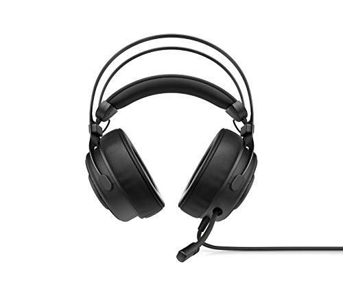 OMEN Blast Headset   Gaming Headset with Retractable, Noise Canceling Microphone and 7.1 Surround Sound   Multi-Compatible Xbox One, PS4, and PC Headset   USB Headset   (1A858AA)