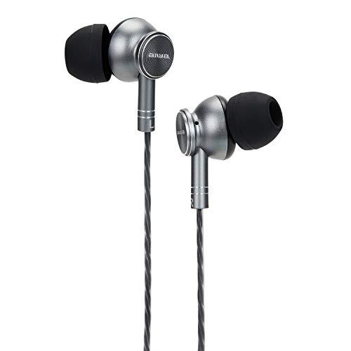 Aiwa ESTM-100TN in-ear hoofdtelefoon met microfoon