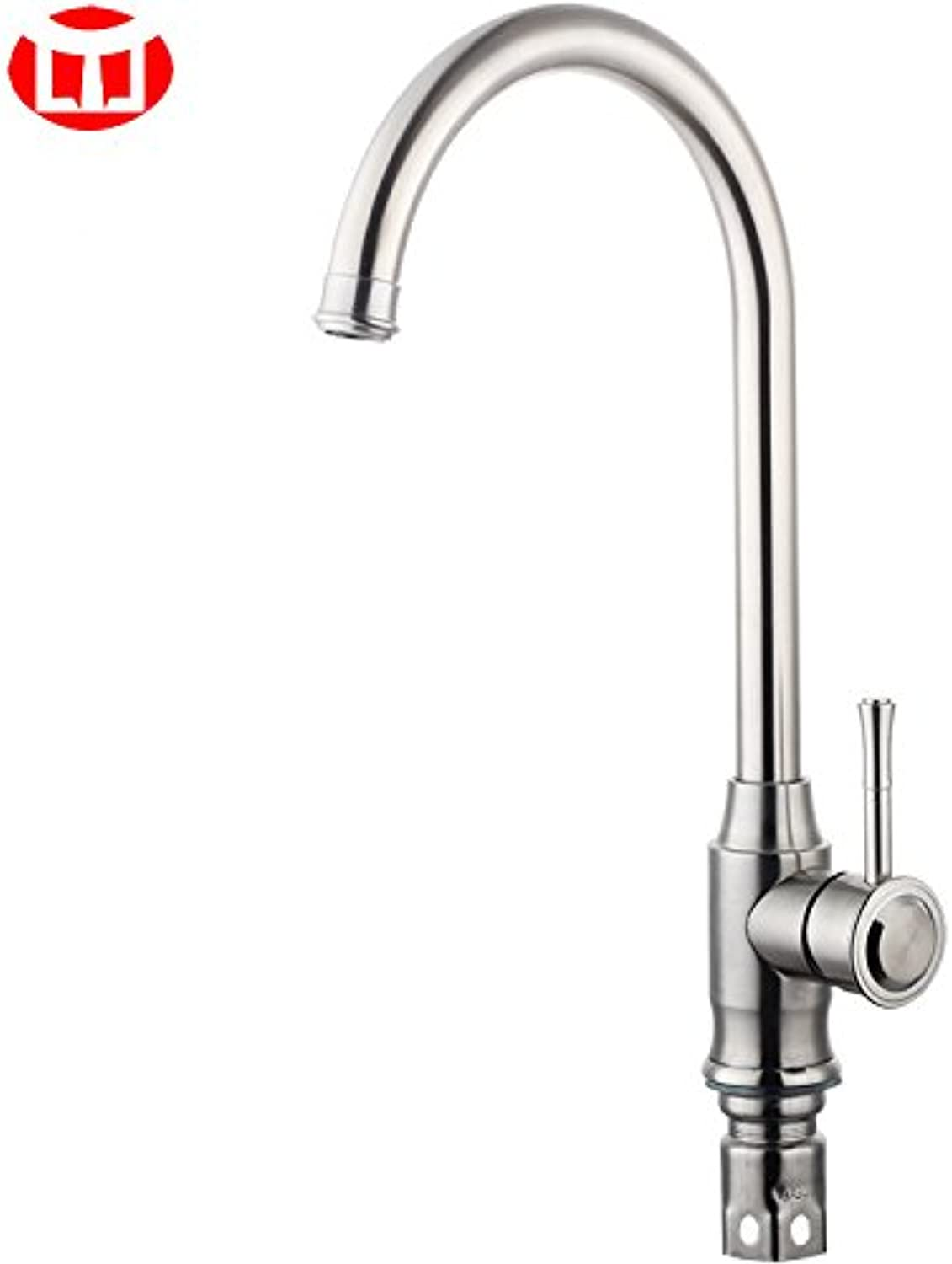 Gyps Faucet Basin Mixer Tap Waterfall Faucet Antique Bathroom Kitchen faucet kitchen stainless steel cold water slot redating faucet brushed C010 Bathroom Tub Lever Faucet