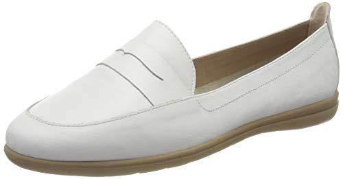 Jana 100% comfort Damen 8-8-24600-24 Slipper, Weiß (White Nappa 108), 36 EU