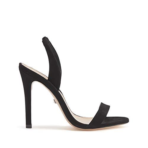 SCHUTZ Women's Luriane Dress High-Heeled Sandal Black