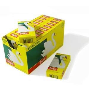 SWAN - Filtri extra sottili per sigaretta, 120 per confezione – 2 confezioni