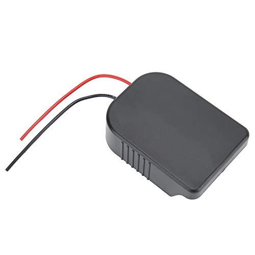 Connettore di Alimentazione a Batteria 18V per Mak-ita per Bo-sch, Mini Adattatore di Alimentazione Portatile con Cavo a 12 Pollici da 10 Pollici Cablato per BL1415 BL1815 BL1830 BL1850 Bat618g Ect.