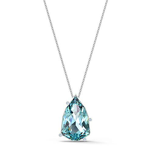Swarovski 87904954 - Ciondolo da donna, in metallo, con cristalli Swarovski, taglia unica