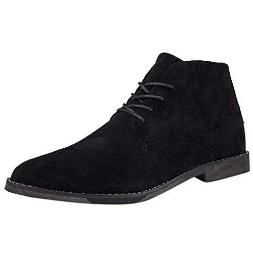 Chelsea Boots Men Suede Leather Decent Men Ankle Boots Original Male Short Casual Shoes British Style Winter Spring Boot