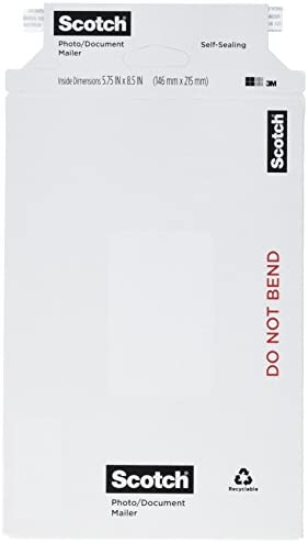 Scotch Brand 3M Photo Document Mailers MMM79161 1 ea product image
