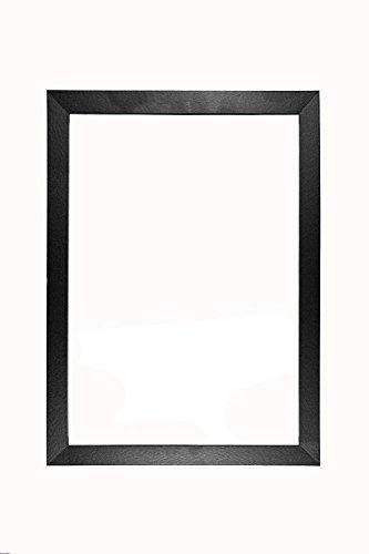 Memory Box MDF-Bilderrahmen/Posterrahmen mit Plexiglas-Platte, 20 mm, Schwarz, 16