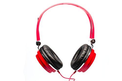 cad headsets CAD Audio Studio Headphones, Red (MH100R)