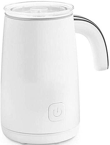 Espumador Leche Milk Frother Calentador De Leche Batidora Leche Espuma Calienta Leche Electrico Vaporera de leche con espuma de leche fría o caliente Revestimiento antiadherente Apagado automático T
