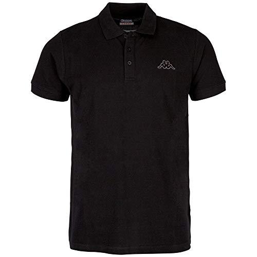 Kappa Polo Peleot Shirt, 005 schwarz, M, 303173