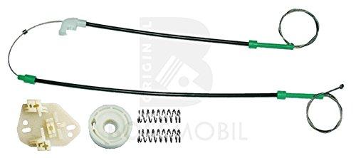 Bossmobil Escort V 5, VI 6, VII 7 (GAL, AVL,AAL,ABL), Delantero izquierdo, kit de reparación de elevalunas eléctricos
