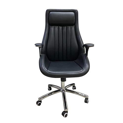 HMBB Sillas de Escritorio, Silla de oficina, silla giratoria, silla de escritorio de oficina ajustable con ruedas, silla de oficina ajustable ergonómica con soporte lumbar, silla giratoria, silla de n