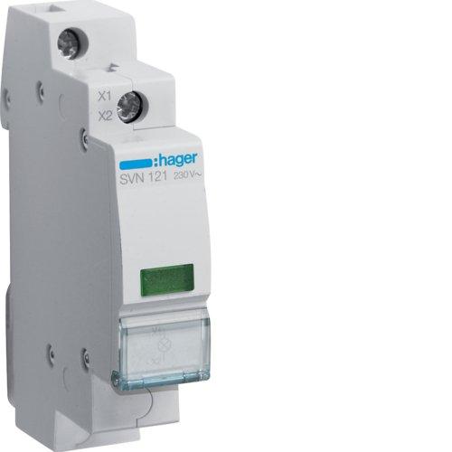 Hager SVN121 LED-Leuchtmelder 230VAC