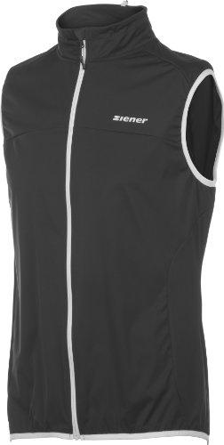 Ziener Herren Weste Celio Men Softshell Vest, Black, 56