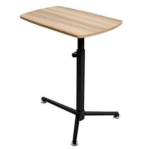 Qddan Laptop Stand Desk With Mouse Board Convenient Adjusting Height From 63cm – 83.5cm Side Table For Computer Stand Desk