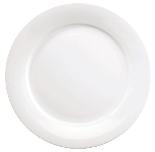 Churchill Art de cuisine Ce756 Menu Mid cerclé Assiettes, 171 mm (lot de 6)