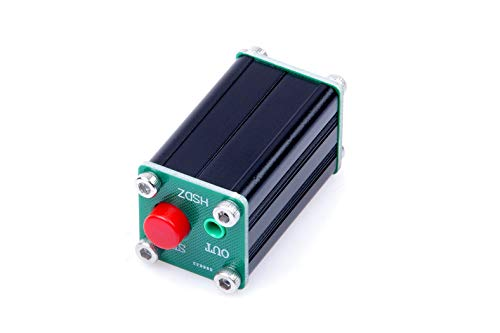 KNACRO Audio Switching Board 3.5mm Audio Input A/B Group Input Switch Select Output-with Shell