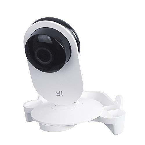 KKmoon Wandhalterung für YI Home Camera Stilvolle dreieckige Wand-Ecken-Halterung, fester Ständer, kompatibel mit YI 1080P/YI 720P Heimkamera