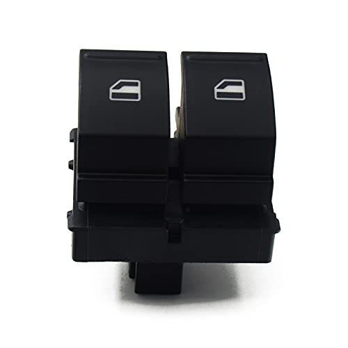 Interruptor de Ventana de Coche para VW Caddy 2K, para Jetta EOS Golf MK5, para Passat B6 Seat Ibiza Altea 1K3 959857 / 1K3 959 857A, Interruptor de Control de Ventana electrónico