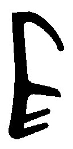 5m-Flügelfalzdichtung für 12mm Falzbreite - 5mm Nutbreite in Beige, Braun, Grau, Schwarz, Weiss WSD 2483 Farbe Schwarz