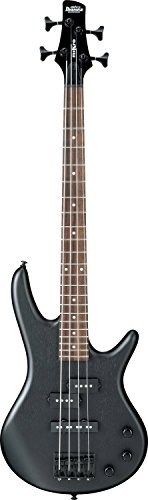 Ibanez 4 String Bass Guitar, Right, Weathered Black (GSRM20BWK)