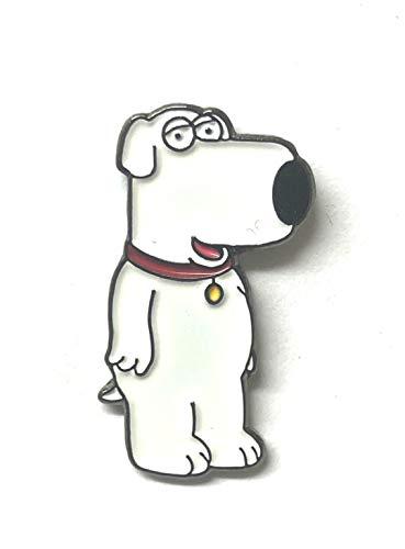 Spilla con scritta 'Family Guys Brian', azienda britannica