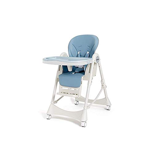 Lowest Prices! SMLZV High Chair Easy to Clean Multi-Function Foldable Home Baby Eating Table Seat St...