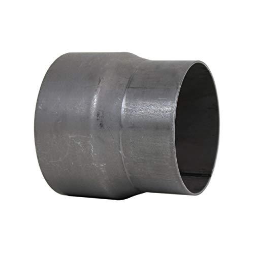 LANZZAS Rauchrohr Ofenrohr Reduzierung Ø 130 mm auf Ø 120 mm unlackiert Kaminofen Rohr Reduktion Ofenrohrreduzierung