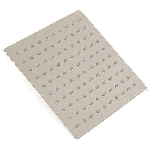 anruo 20x20cm 8 vierkante roestvrijstalen badkamer vierkante douche douche plafond douche regendouche woondecoratie