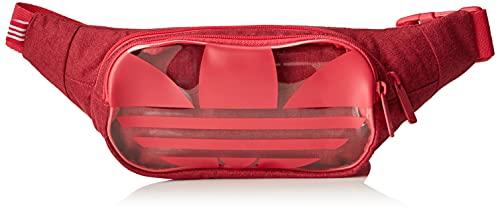 adidas IZM92-GD4704 Riñonera Essential Waist para Adulto Unisex, Rojo/Negro, Talla Única