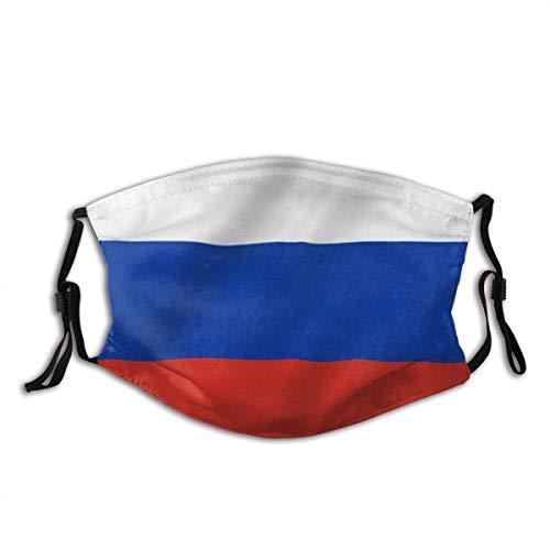 Gesichtsdekorationen,Für Die Persönliche Gesundheit,Unisex Staubdichter,Mundschutz,Gesichtsbedeckung,Russland Flagge Russische Föderation Nationalflaggen