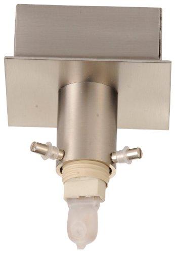 Java Exclusiv 55038 plafondlamp zonder glas serie Combi02, halogeen, 1 lamp, nikkel mat