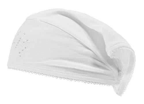 Döll Baby Mädchen Kopftuch, Größe:45, Präzise Farbe:Weiß