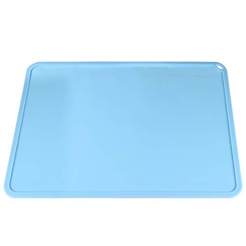 FYSETC 3D Printer Silicone Slap Mat 16x12 inch Clean Up or Resin Material Transfer to Protect The Work Surface for DLP SLA LCD Anycub Photon S Eleg Mars Wanhao Monoprice, Blue