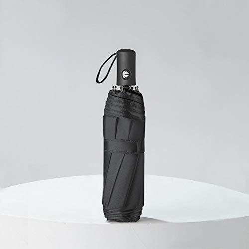 ASDMRQ paraguas, paraguas totalmente automáticos, paraguas de negocios plegables, paraguas de viaje portátiles, paraguas de apertura y cierre automáticos