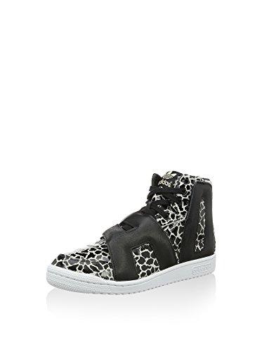 adidas Sneaker Alta JS Letters Giraffe Nero/Bianco EU 45 1/3 (UK 10.5)