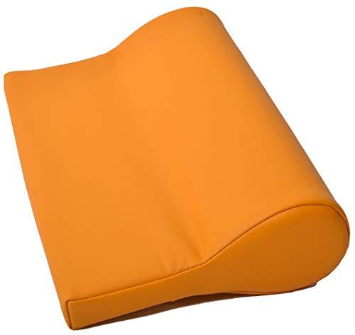 Nackenkissen ölabweisend und wasserabweisend für die Massage mit Feinzellschaumstoff und PU-Bezug als Nackenstützkissen für die Massageliege in Gelb