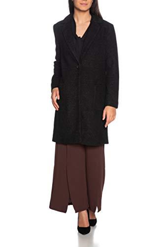 ONLY Damen Onlastrid Marie Coat OTW Mantel, Schwarz(BlackBlack), Large