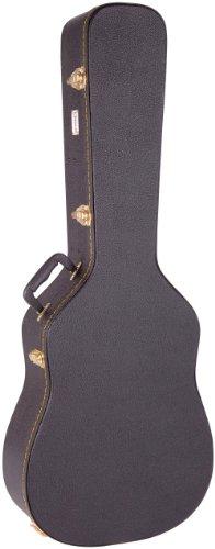 Kinsman CWG2 - Estuche para guitarra dreadnought, color negro
